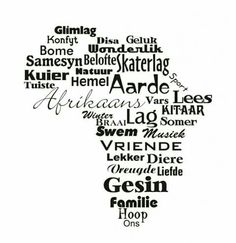 Afrikaans - one of the youngest - if not the youngest language of Africa. Africa Quotes, Afrikaanse Quotes, Word Pictures, Wall Quotes, Wall Sticker, South Africa, Inspirational Quotes, Motivational, Wisdom