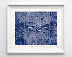 Oklahoma City, Oklahoma, Map, State, Print, Nursery, Poster, Wall Decor, Town, Illustration, Pretty, Room, Art, Cute, World, Street [NO 517] by InkistPrints on Etsy https://www.etsy.com/listing/200690848/oklahoma-city-oklahoma-map-state-print