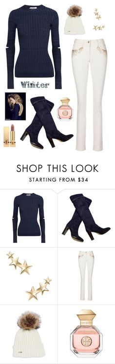 """""""Untitled #380"""" by maylamartha ❤ liked on Polyvore featuring Jil Sander, Loro Piana, Kenneth Jay Lane, Tory Burch and Yves Saint Laurent"""