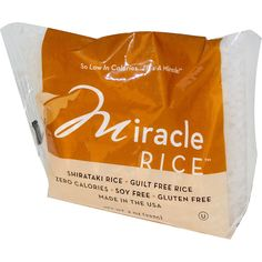 Miracle Noodle, Miracle Rice, 8 oz (227 g)