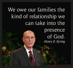 """With the Lord's help and repentant hearts, we can catch a glimpse of the kind of life we want to have forever. We can with confidence aim for a heavenly standard in our relationships within our families. We owe our families the kind of relationship we can take into the presence of God."" From #PresEyring's http://pinterest.com/pin/24066179228827489 inspiring message http://lds.org/ensign/2015/06/families-can-be-together-forever Learn more http://facebook.com/FamilyProclamation and #passiton."