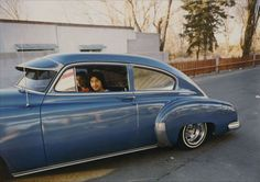 """1949 Chevy from """"The Lowriders, Portraits from New Mexico,"""" 1980 by Meridel Rubenstein"""