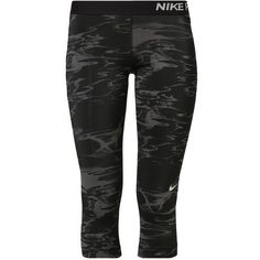 Nike Performance Tights ($36) ❤ liked on Polyvore featuring activewear, activewear pants, black, nike sportswear, nike activewear pants, nike and nike activewear