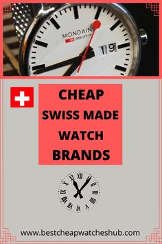 many individuals can't afford to purchase luxury brands, that doesn't mean they don't need a decent Swiss watch. We've listed the top 10 Cheap Swiss Made Watch Brands that elegantly built, and very sturdy ones. #swisswatch #luxurywatch #usawatches #menswatches #watches #watchcollectors #watchaddict #fashionwatches #wristwatches #smartwatches #sportswatches #timexwatches #mido #hamilton #swatch Best Cheap Watches, Sport Watches, Watches For Men, Timex Watches, Swiss Made Watches, Swiss Watch, Wristwatches, Watch Brands, Fashion Watches