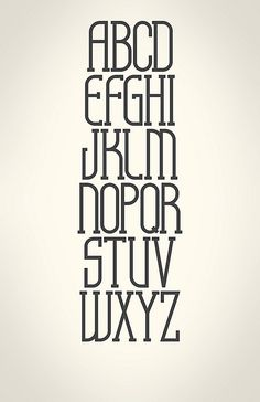 Love this font.