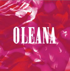 OLEANA Collection Catalogue Cover