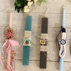 Easter Crafts, Easter Ideas, Easter 2020, Palm Sunday, Candle Sconces, Wall Lights, Candles, Christmas, Diy