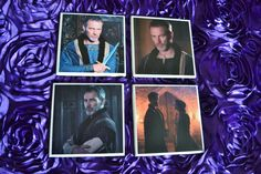 TBX Coaster Set by YourSweetEscape on Etsy