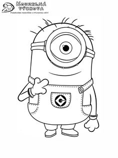 10 Best Minions Coloring Pages Images Minion Coloring Pages