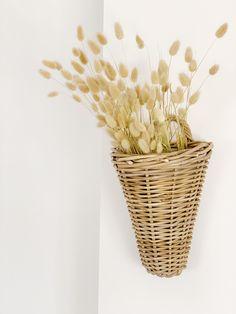 Una gran apuesta para decorar tu casa #decoracion #flores #decoration #cestos