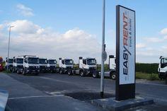 the new Easy Rent Trucks