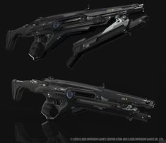 Some stuff that i did with the CIG team and their art director Paul Jones for the star citizen project. For the Gemini weapons, the original Design inspiration has come from CIG and Peter Ku. For the PAW, the original design was from CIG and Edon Guraziu. Sci Fi Weapons, Weapon Concept Art, Fantasy Weapons, Weapons Guns, Star Citizen, Armadura Sci Fi, Carros Lamborghini, Future Weapons, Spaceship Design