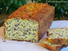 Pane alle Zucchine con Ig Basso senza Farina di Frumento