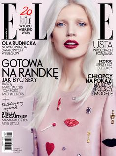 Ola Rudnicka By Gosia Macias For Elle Poland February 2014