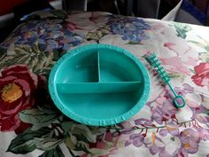 Vintage Doll-E-Dish and Bottle Washer 1950s by AMSCO Divided Food Bowl