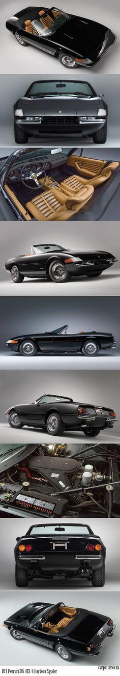 1971 Ferrari 365 GTS/4 Daytona Spyder.