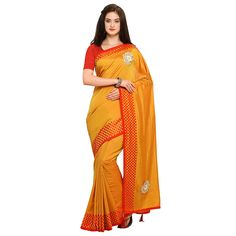8313c9956b1eb Womanista Synthetic Saree with Blouse Piece (FS9556 Turquoise Blue One  Size)  Amazon.in  Clothing   Accessories