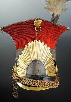 CZAPSKA DU CAPITAINE LIEUTENANT PIERRE JULES SOUFFLOT DU 2ème RÉGIMENT DES CHEVAU-LÉGERS LANCIERS DE LA GARDE IMPÉRIALE, DIT « LANCIERS ROUGES » OU « LANCIERS HOLLANDAIS », PREMIER EMPIRE (1814-1815). Military Decorations, Lead Soldiers, Napoleonic Wars, Military History, Headgear, Wall Prints, Empire, Costume, Maps