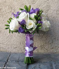 букет невесты орхидеи фиолетовый - Google Search