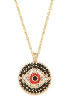 our ruby evil eye pendant!