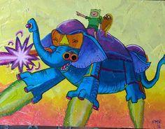 Ancient psychic tandem war elephant ancient psychic tandem war