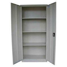 Metal Locking Storage Cabinet Kitchen Cabinets Wardrobe