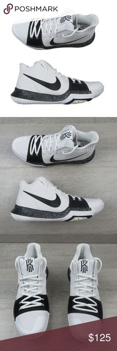 "online retailer e763c faf96 Nike Kyrie 3 ""Cookies And Cream"" Basketball Shoes Nike Kyrie 3 ""Cookies And"