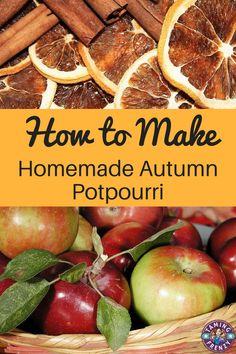 Homemade fall potpourri is a frugal way to make your home smell wonderful while controlling the chemicals your family will be breathing. How To Make Potpourri, Fall Potpourri, Stove Top Potpourri, Homemade Potpourri, Simmering Potpourri, Potpourri Recipes, House Smell Good, House Smells, Easy Christmas Decorations
