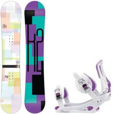 K2 Moment 146 Womens Snowboard + Rossignol Gala Bindings