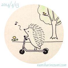 Cute Kawaii Animals, Hedgehog Illustration, Doodle Art, Cute Art, Kawaii Drawings, Cute Kawaii Drawings, Art, Cute Drawings, Hedgehog Drawing