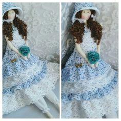 boneca de pano tilda camponesa