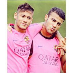neymar and rafinha