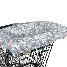 Balboa Baby® Shopping Cart and Highchair Cover in Grey Dahlia