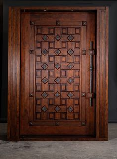 Are you looking for the best wooden doors for your home that suits perfectly? Then come and see our new content Wooden Main Door Design Ideas. Wooden Front Door Design, Wooden Front Doors, The Doors, Entrance Doors, Entrance Ideas, Wood Doors, Door Entry, House Entrance, Entry Foyer