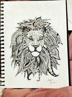 Zentangram. Im studying art but cant work on it. Needs an hardworking designer