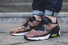 On-Foot: Nike Air Max 90 Ultra 2.0 Flyknit 'Multicolor' - EU Kicks: Sneaker Magazine