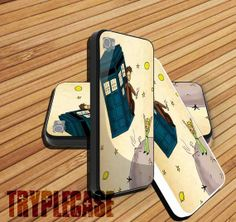 #iphone #case #cover #protector #iphone_case #plastic #design #custom #funny #cute #Tardis_Doctor_Who #Little_Prince