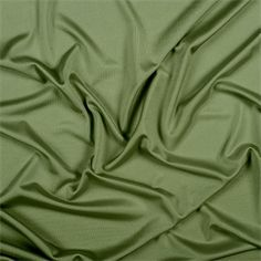 Olive Silk Knit