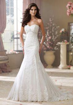 David Tutera for Mon Cheri 214217 Wilma Wedding Dress - The Knot