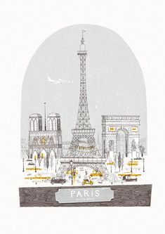 Beautiful illustration makes me wish I was in Paris now. Petit Belle by Johnny Kotze, via Behance Illustration Parisienne, Paris Illustration, Illustrations, Tour Eiffel, Torre Eiffel Paris, Deco France, Paris France, Gravure Illustration, Springtime In Paris