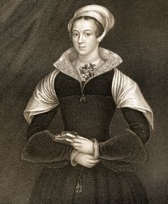 Lady Jane GreyAka Lady Jane Dudley Titular Queen Of England For Nine Days In 1553 Executed By Mary Tudor From The Book LodgeS British Portraits- Published London 1823 Canvas Art - Ken Welsh Uk History, Asian History, Tudor History, British History, Scotland History, European History, History Facts, Lady Jane Grey, Jane Gray