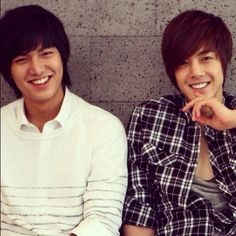 Boys Over Flowers Lee Min Ho as Goo Joon Pyo Kim Hyun Joong as Yoon Ji Hoo