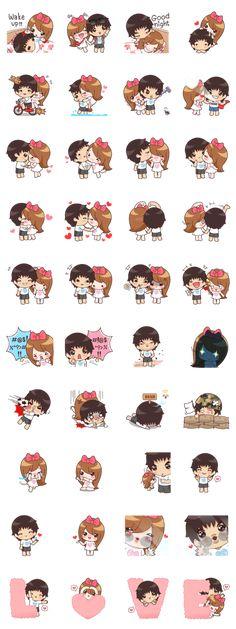 My Valentine(EN) - LINE Creators' Stickers