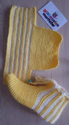 Discover Art inspiration, ideas, styles - Source by Knitting Blogs, Loom Knitting, Baby Knitting Patterns, Knitting Designs, Knitting Socks, Crochet Patterns, Knit Slippers Free Pattern, Crochet Slipper Pattern, Crochet Socks