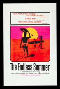 The endless summer vintage movie poster surfing