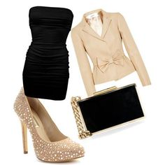 Evening Dress   Polyvore glamour featured Evening Gowns dresses