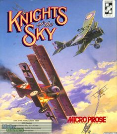 Knights of the Sky (Amiga). This was my favorite game as a boy.