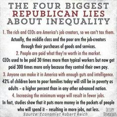 """Robert Reich understands what is happening with the unprecedented levels of income inequality.  Watch """"Inequality for All"""" on Netflix."""