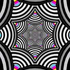 "crossconnectmag: "" Hexeosis: Trippy Pattern Movement At one time the very popular gif artist who is know as Hexeosis was a Creative Director for a respected Motion Graphics firm making TV Commercials. Optical Illusions Pictures, Optical Illusion Gif, Trippy Pictures, Illusion Pictures, Art Optical, Trippy Patterns, Psychedelic Pattern, Doodle Patterns, Illusion Kunst"