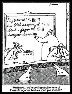 Gary Larson's -The Far Side--  The funny- way we communicate  | Pennsylvania Echoes